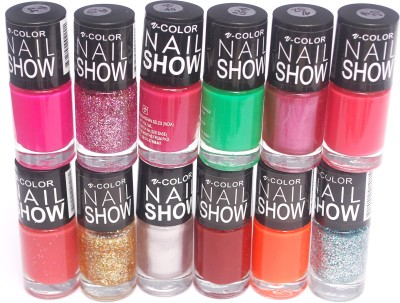 V-Color Nail Show 72 ml(Multicolor Set 17)
