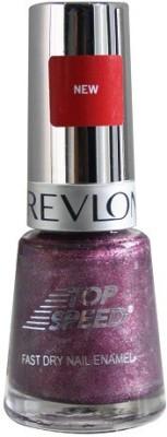 Revlon Top Speed Nail Enamel, Sugar Plum 8 ml(Pink)