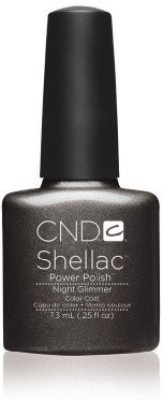 CND Nail Products Cnd Shellac Power Polish Forbidden Collection Night Glimmer 7.5 ml