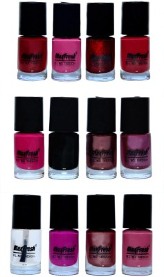 Max Fresh Valueable Nail Polish Combo 206 72 ml