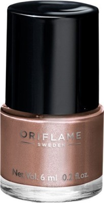 Oriflame Sweden Pure Colour Nail Polish Mini Bronzed Brown 6 ml(Bronzed Brown)