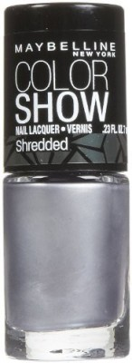 Maybeline New York Color Show Shredded Nail Lacquer - Silver Stunner - 15 ml