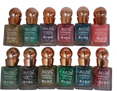 Avlon Glitter Nail Polish A.G.N.P-C12 12 ml