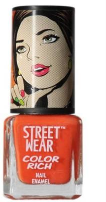 STREETWEAR COLOR RICH NAIL ENAMEL - SAUCY ORANGE 5 ml