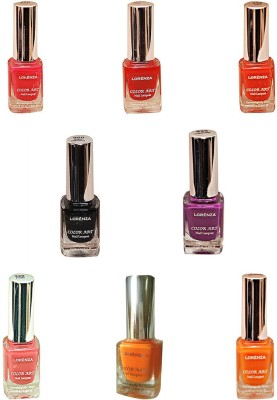 Lorenza Combo Set-26 Nail Lacquer (Pack Of 8) 15 ml