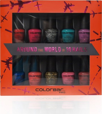 Colorbar Nail Kit Around The World In 10 Days 50 ml