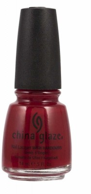 China Glaze Masai Red - TBP70332 Professional Lacquer 14 ml