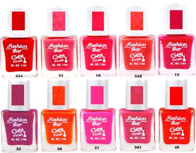 Fashion Bar Silver Cap Nail Polish New 16 95 ml