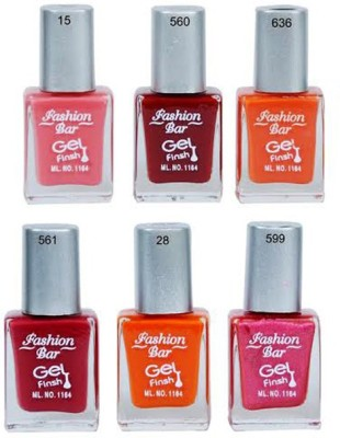 Fashion Bar Neon Nail Polish Combo 30 57 ml