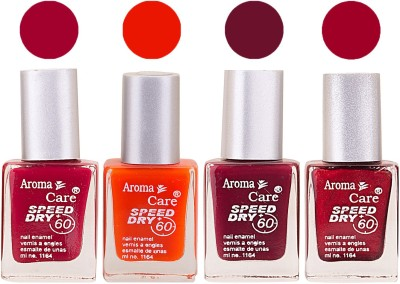 Aroma Care Maroon Nail Polish Combo 2506201646 24 ml