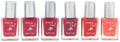 Aroma Care Multicolor 6 Nail Polish Combo 11 54 ml