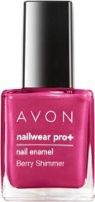 Avon Nailwear Pro+Nail Enamel 8 ml(Berry-Shimmer)