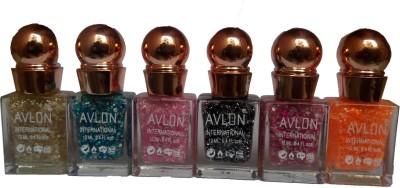 Avlon Glitter Nail Polish A.G.N.P-H6 12 ml