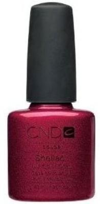 CND Cosmetics Creative Nail Design Shellac Uv Color Coat Red Baroness 7.5 ml