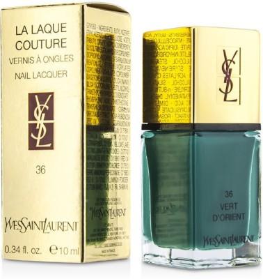 Yves Saint Laurent La Laque Couture Nail Lacquer 10 ml(36 Vert DOrient)