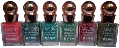 Avlon Glitter Nail Polish A.G.N.P-G6 12 ml