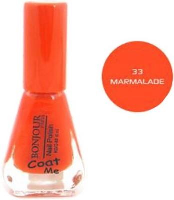Bonjour Paris Color Cap Nail Polish 33 6 ml(Orange)