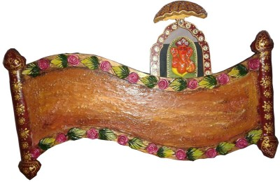 newly handicraft Wooden Religious Name Plate(Multicolor)