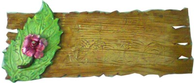 newly handicraft Wooden nature Name Plate(Multicolor)
