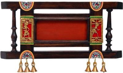 NG Art Ventura Wooden Handpainted Name Plate(Brown)
