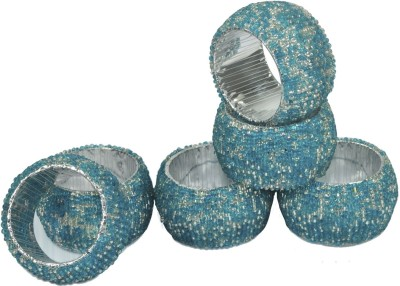 Dakshcraft ACB175 Set of 6 Napkin Rings(Multicolor)