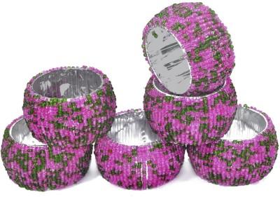 Dakshcraft ACB169 Set of 6 Napkin Rings(Multicolor)