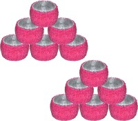 Dakshcraft AB147 Set of 12 Napkin Rings(Pink)