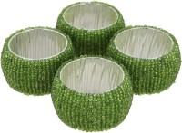 Dakshcraft ACB162 Set of 4 Napkin Rings(Green)