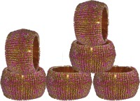 Dakshcraft ACB187 Set of 6 Napkin Rings(Multicolor)