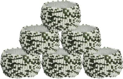 Dakshcraft ACB181 Set of 6 Napkin Rings(Multicolor)