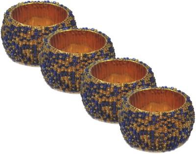 Dakshcraft ACB171 Set of 4 Napkin Rings(Multicolor)
