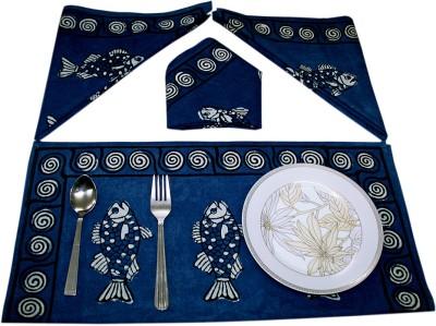 Sriam Blue Set of 4 Napkins