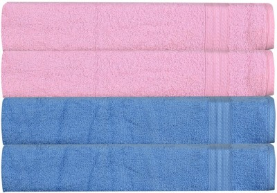 RR Textile House Pink, Light Blue Set of 4 Napkins