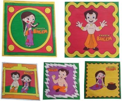 Welhouse Multicolor Set of 5 Napkins