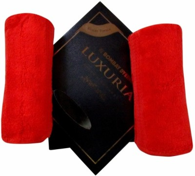 Bombay Dyeing Red Set of 2 Napkins