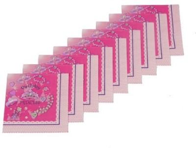 Funcart Pink Set of 9 Napkins