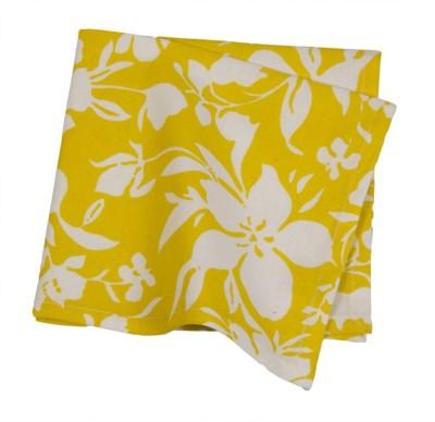 Po Box Yellow Set of 1 Napkins
