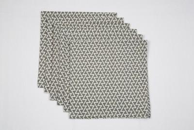 Ocean Collection Grey Set of 6 Napkins