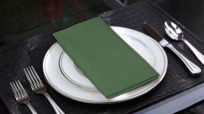 Lushomes Green Set of 6 Napkins