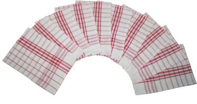 Lushomes Red Set of 10 Napkins
