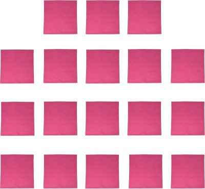 Kanchul Hot Pink Set of 18 Napkins