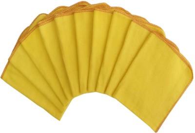 Lushomes Yellow Set of 10 Napkins