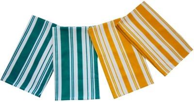 Tidy Green, Yellow Set of 4 Napkins