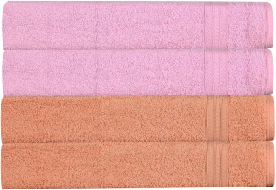 RR Textile House Pink, Beige Set of 4 Napkins