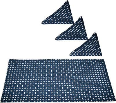 sriam Blue&white Set of 4 Napkins