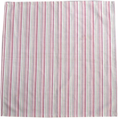 Five Seasons House Pink Set of 1 Napkins