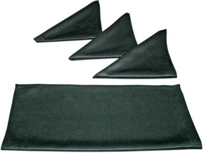 sriam Dark BLACK Set of 4 Napkins