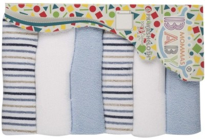 MOMMAS BABY Blue Set of 6 Napkins