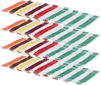 Kurtzy Multicolor Set of 25 Napkins