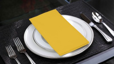 Lushomes Yellow Set of 6 Napkins